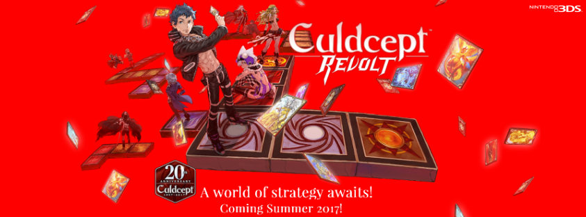 Culdcept Revolt is coming to the West!!!